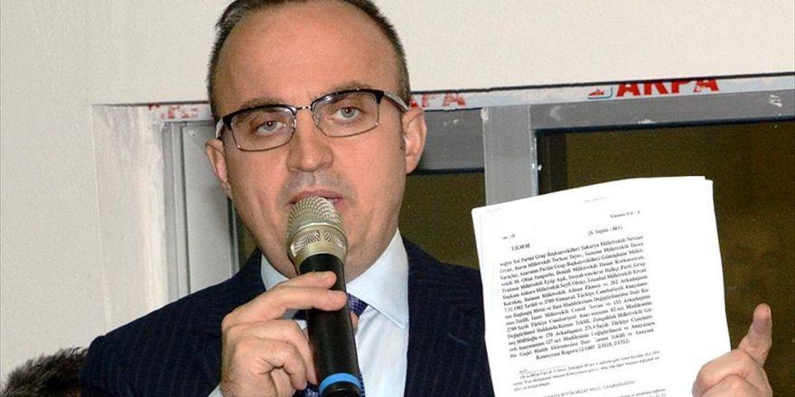 Ak Parti Grup Başkanvekili Turan: Kılıçdaroğlu, Koltuğunu, Geleceğini Düşündüğü İçin 'Hayır' Diyor