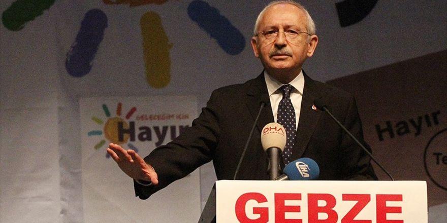 Chp Genel Başkanı Kılıçdaroğlu: Bir Demokrasi Oylaması Yapacağız