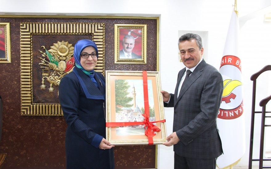 Başkan Toru'dan, Başkan Tutal'a ziyaret