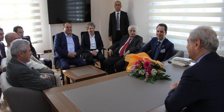 Erbakan'dan Tyb Konya Şubesi'ne Ziyaret