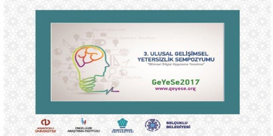 GeYeSe 2017 SELÇUKLU'DA BAŞLIYOR