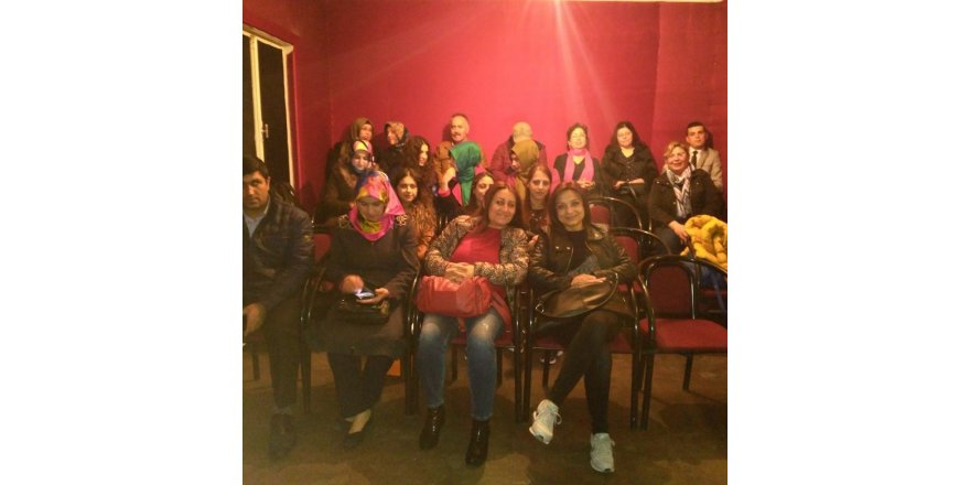 Meram B-Fit üyeleri Çınar Sanat Atölyesi'nde