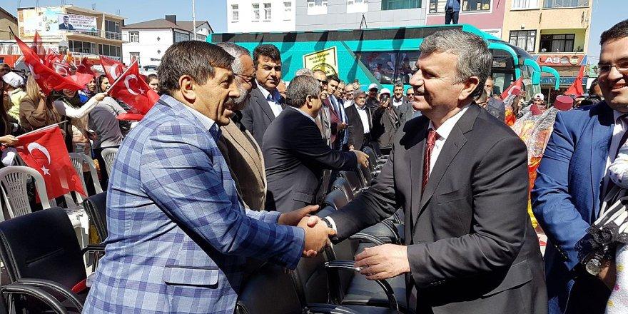 Başkan Akyürek, Yunak'ta