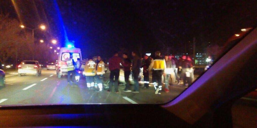 İstanbul yolunda feci kaza