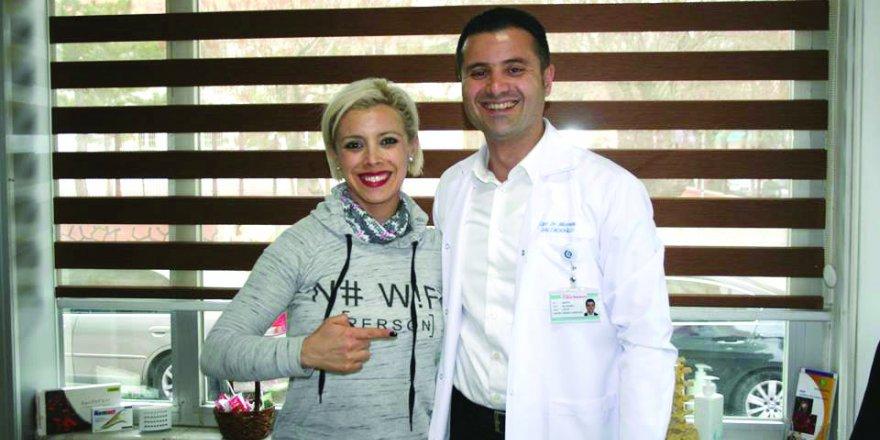 Ünlü Karateci Carol De La Paz Anıt Hastanesi'nde