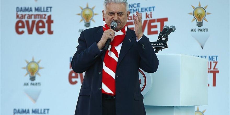 Başbakan Yıldırım: Türkiye Olarak Masada Yerimizi En İyi Şekilde Almamız Lazım