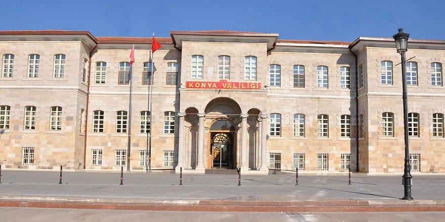 Konya'da memurluktan çıkartılan kişi sayısı