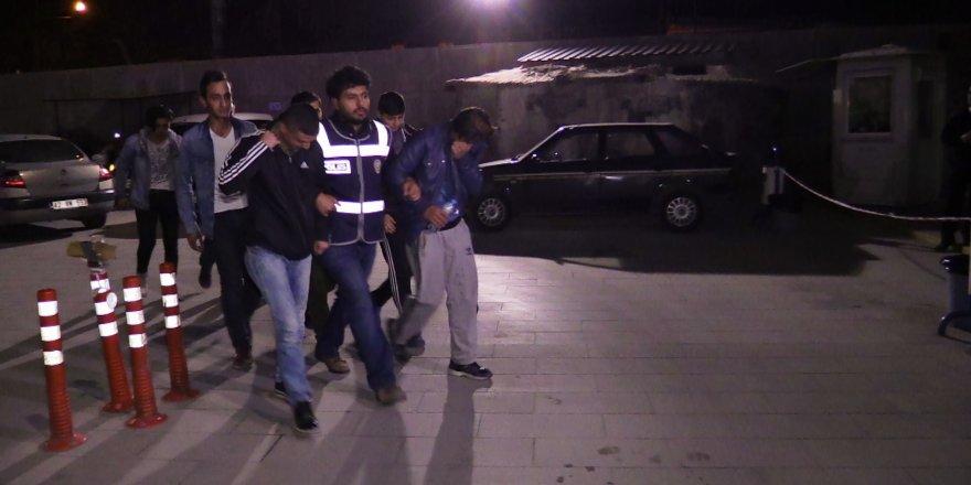 Konya'daki bıçaklı kavgayla ilgili gözaltılar