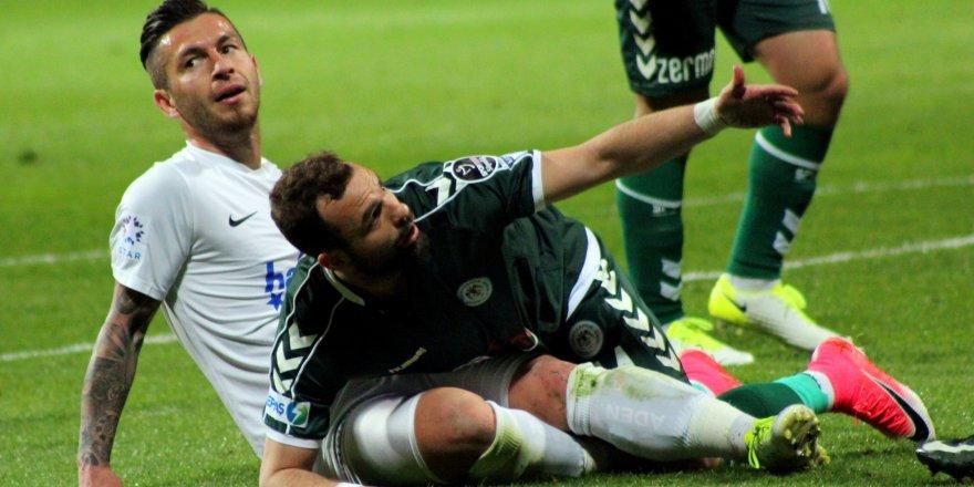 Konyaspor galibiyeti koruyamadı