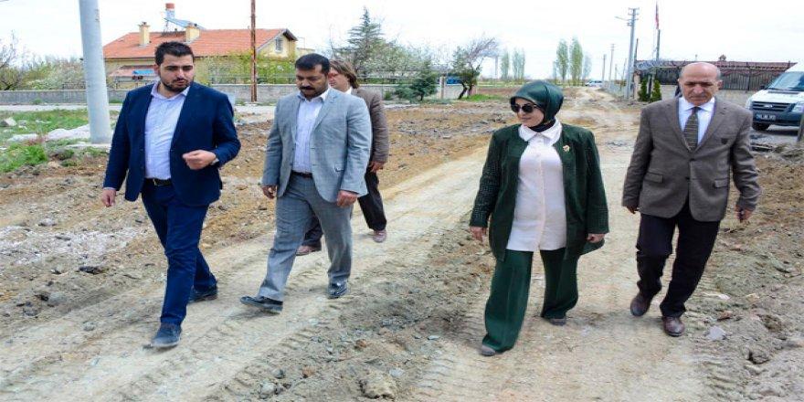 Meram'ın 62 mahallesinde altyapı çalışması