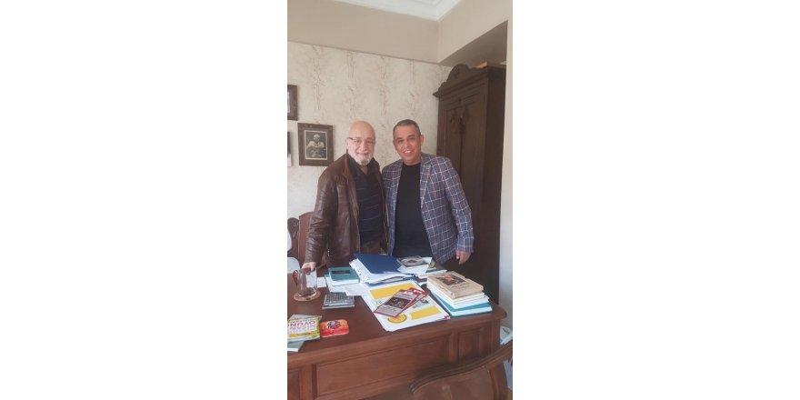 Mustafa Karamercan'dan Emin Olcay'a ziyaret