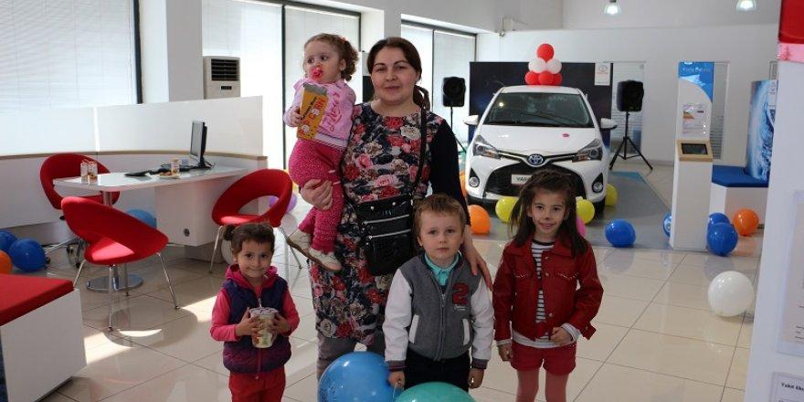 Toyota çocukları unutmadı