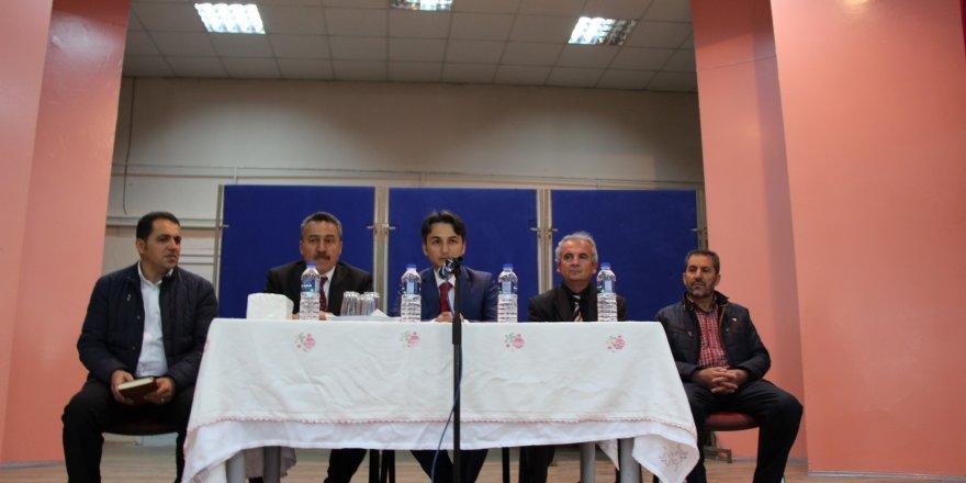 Seydişehir'de Çiftçi Malları Koruma toplantısı yapıldı