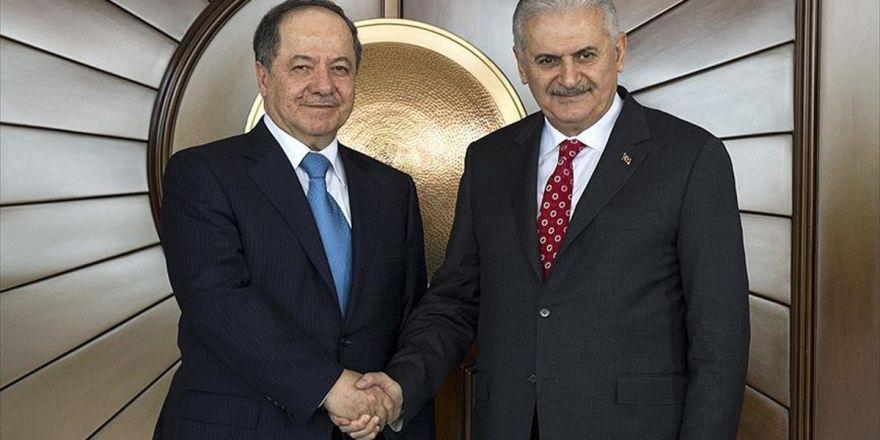 Başbakan Yıldırım, Barzani İle Telefonla Görüştü