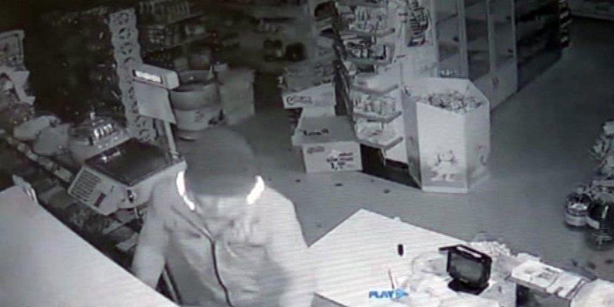 Selçuklu'da market hırsızı yakalandı
