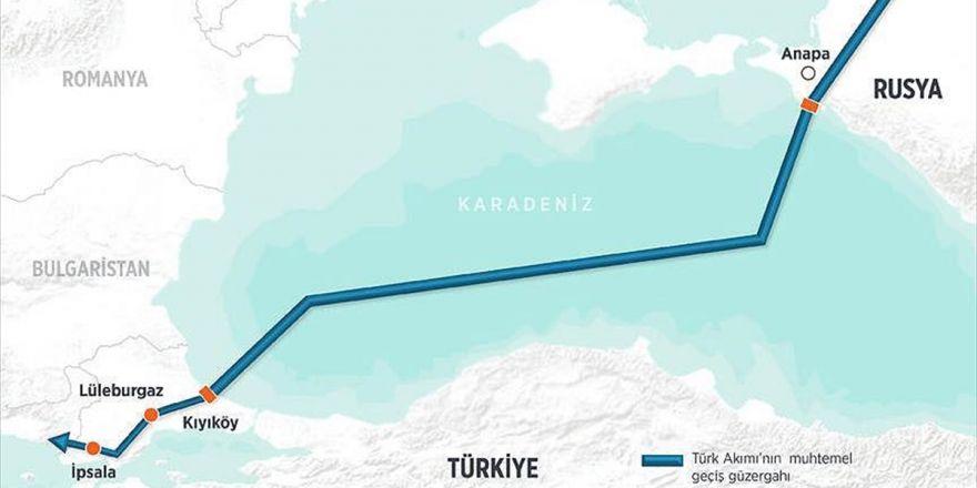 Türk Akımı'nda İnşaat Yazın Başlayacak