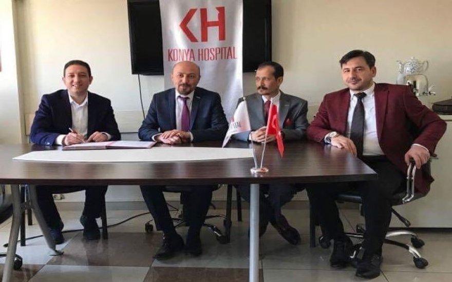 Konya Hospital'de protokol imza töreni