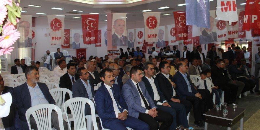 MHP Karapınar İlçe Başkanı Sonkaya güven tazeledi