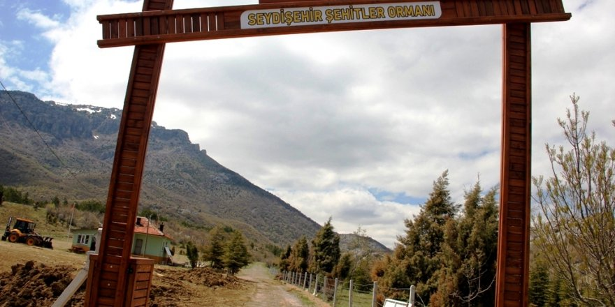 """Seydişehir'e """"Şehitler Ormanı"""" Kuruldu"""