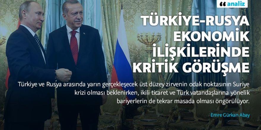 Türkiye-rusya Ekonomik İlişkilerinde Kritik Görüşme