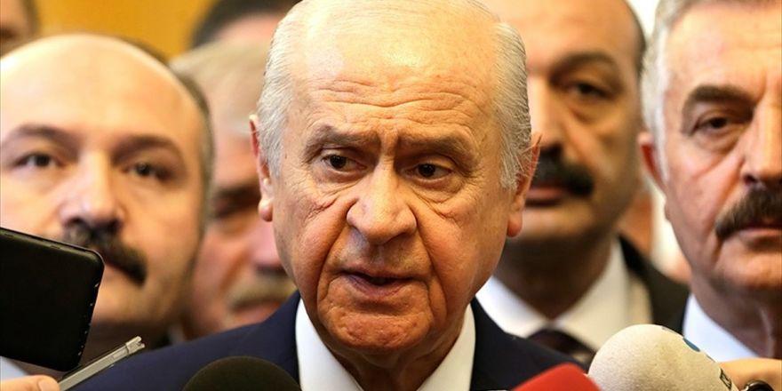 Mhp Genel Başkanı Bahçeli: Fetö'ye Karşı Mücadele Sonuna Kadar Helaldir