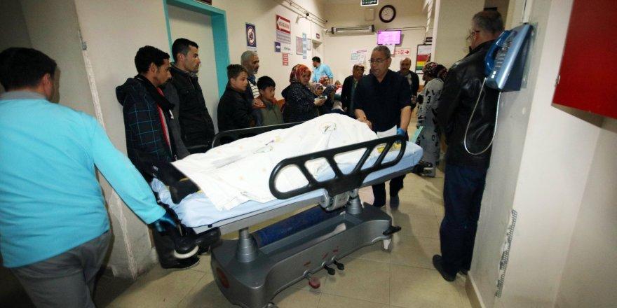 Beyşehir'de bıçakla yaralama: 1 gözaltı