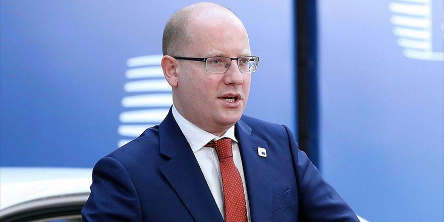 Çekya Başbakanı Sobotka İstifa Ediyor