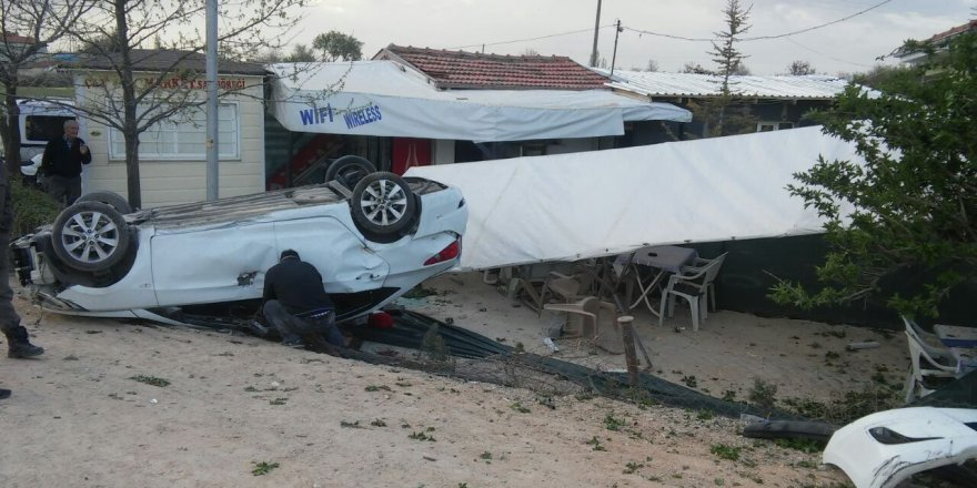 Ilgın'da trafik kazası: 4 yaralı