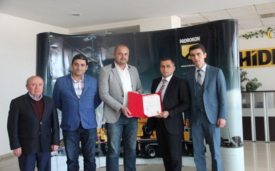 Türkiye'de ilk belge Hidrokon'un