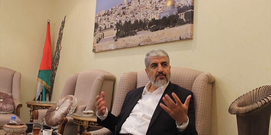 Hamas Siyasi Büro Başkanı Meşal: İsrail İle Bu Süreçte Doğrudan Müzakereler Faydasız Ve Riskli