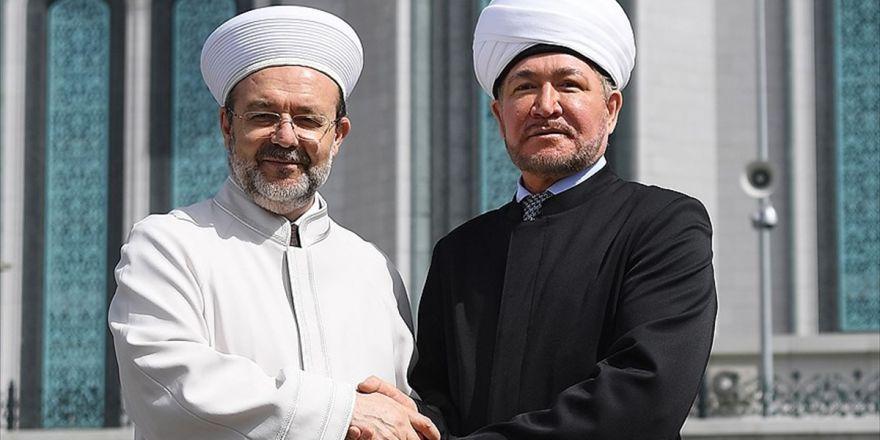 Diyanet İşleri Başkanı Görmez: Bizim İlişkimiz İki Ülke Müslümanları Açısından Çok Önemli