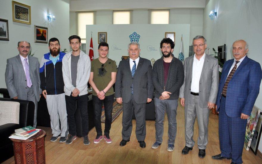 NEÜ öğrencileri 'Ulusal Öğrenci Mimari Fikir Projesi Yarışması'nda ödül aldı