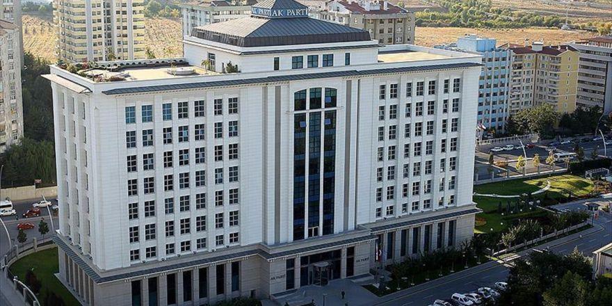 Ak Parti'nin Kongre Tarihi Sitesinden Duyuruldu