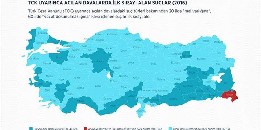 Adalet Bakanlığı Türkiye'nin 'Suç Atlası'nı Hazırladı