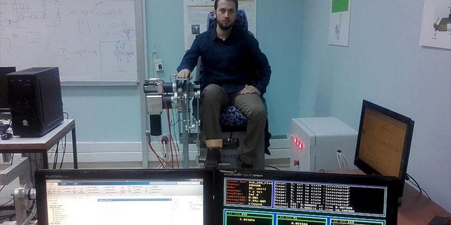 Teşhis Koyup Tedavi Yapabilen Rehabilitasyon Robotu Üretildi