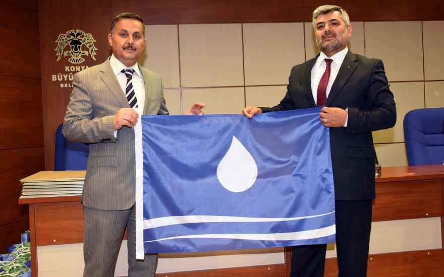 Konya'da su tasarrufu sağlayan gök bayraklı okul sayısı 68 oldu