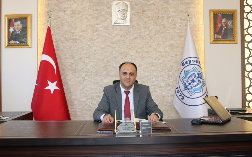 Başkan Özaltun, başarıda Türkiye'de ilk 6'da