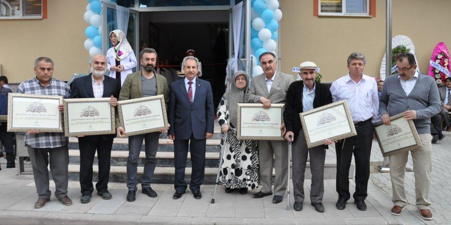 Akşehir'de Kur'an Kursu Açılışı