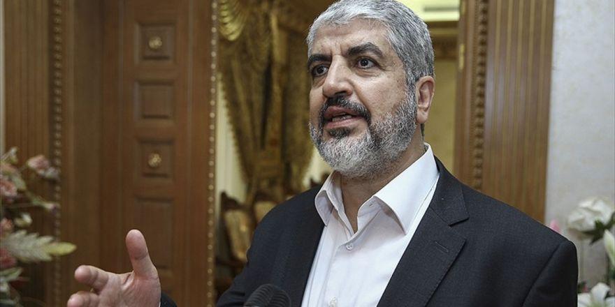 Halid Meşal: Heniye Başkanlığındaki Yeni Yönetim Gereken Sorumluluğu Taşıyacaktır