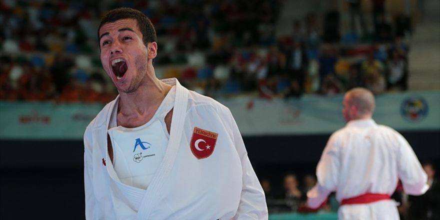 Avrupa Karate Şampiyonası'nda Burak Uygur'dan Altın Madalya
