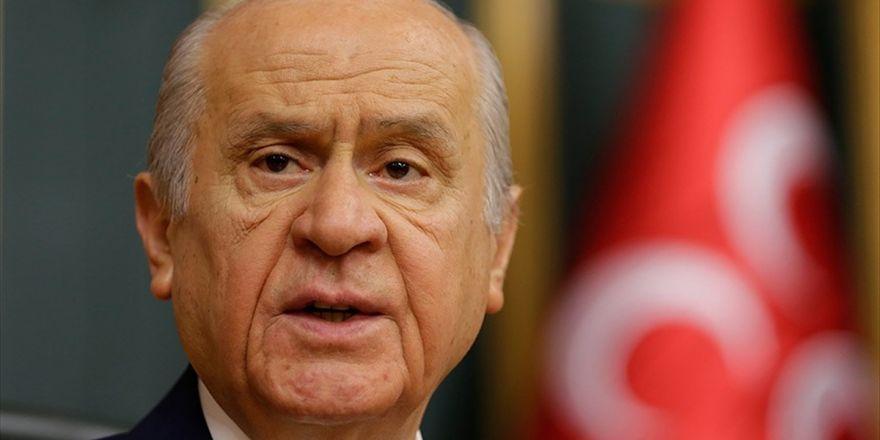 Mhp Genel Başkanı Bahçeli: Dereyi Görmeden Paçayı Sıvayanlar Paçayla Ortada Kalacaklardır