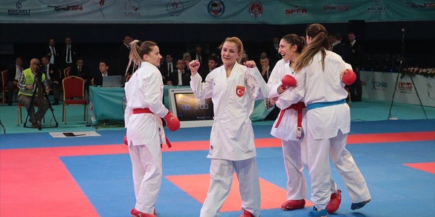 Türkiye Kadın Kumite Milli Takımı Avrupa İkincisi Oldu