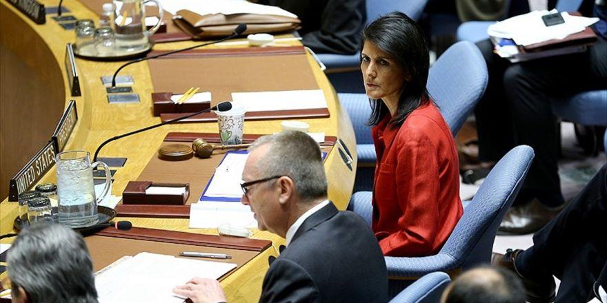 Abd'nin Bm Daimi Temsilcisi Haley: Maduro'nun Halkının Temel Haklarını Hiçe Sayması Krizi Artırdı
