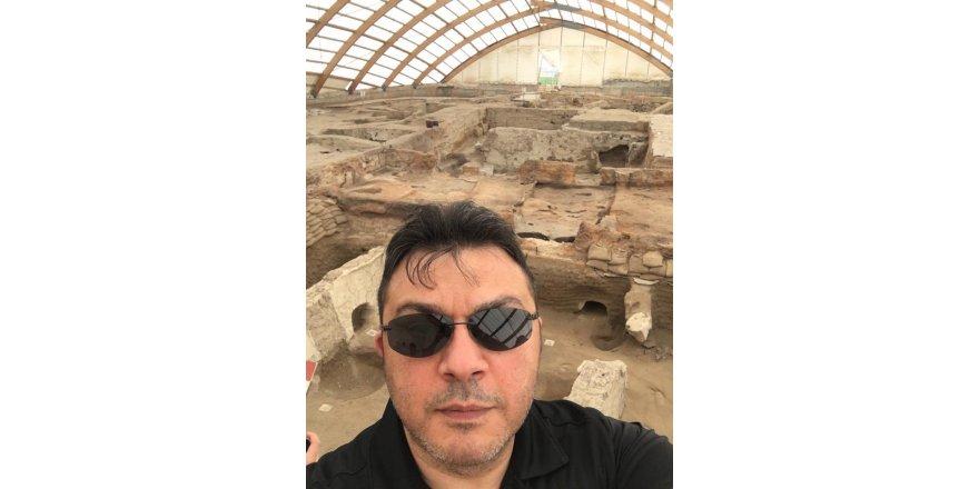 İdris Candan tarihi bölgede