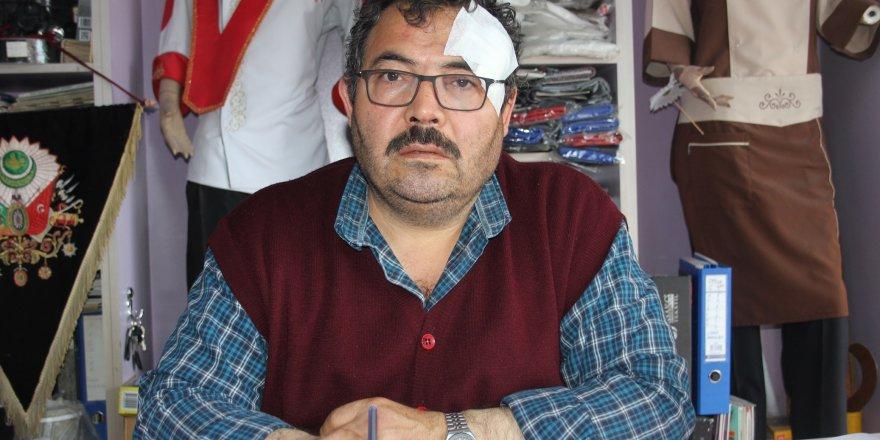 Konya'da esnaf darp edildi
