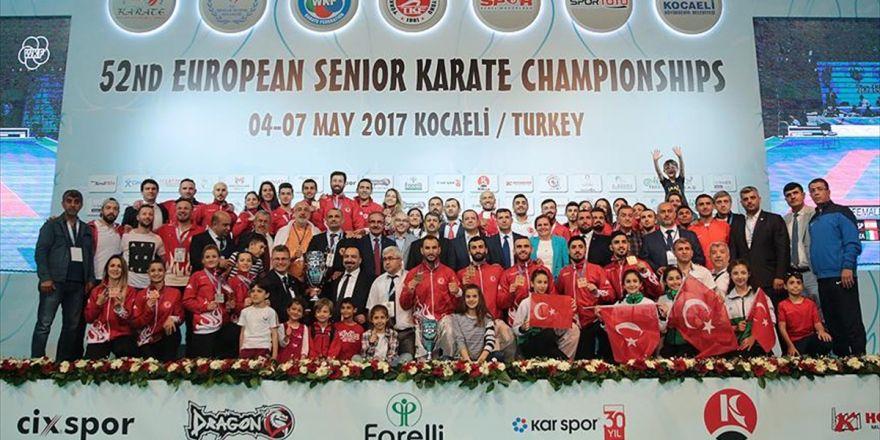 Türkiye Karatede Avrupa'nın Zirvesinde