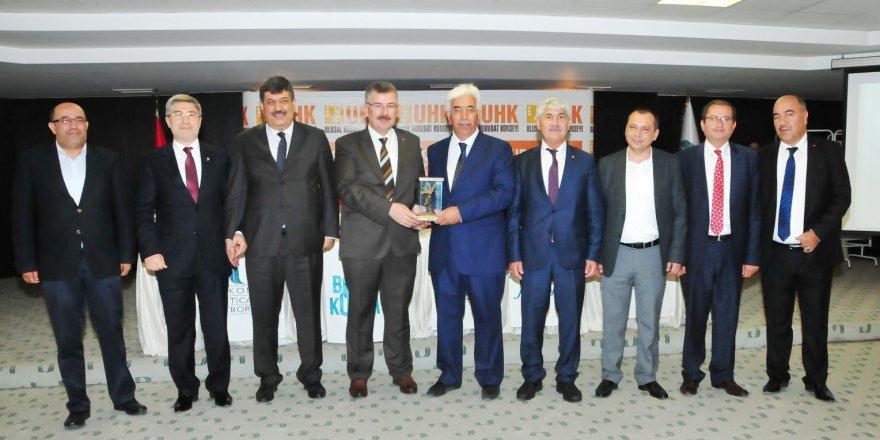 Taşpınar, UHK Başkanlığına seçildi