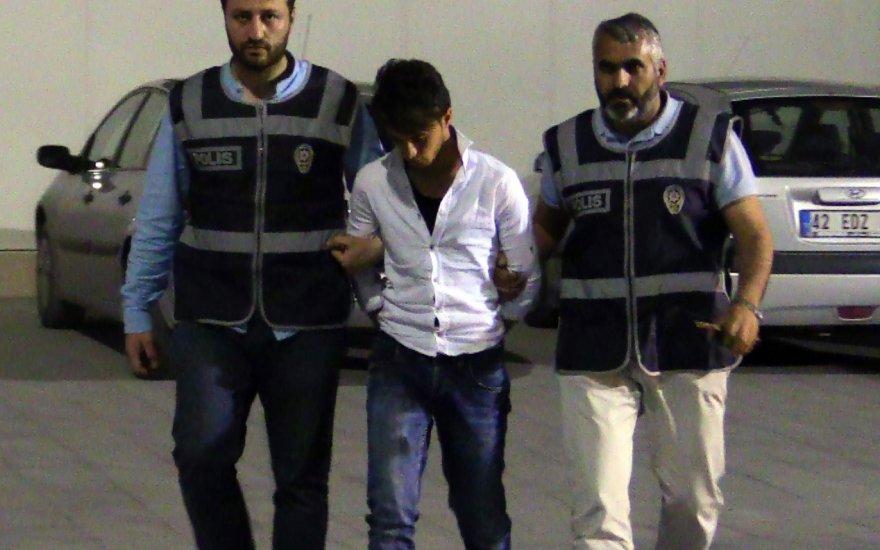 Konya'da  iki Suriyeli gözaltına alındı