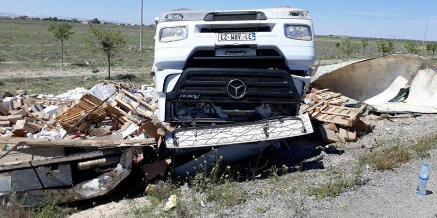 Konya-Ereğli Yolu'nda feci kaza