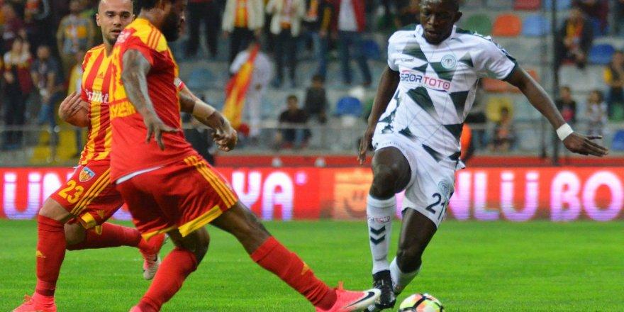 Konyaspor'dan bir yenilgi daha